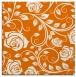 rug #389257   square orange natural rug