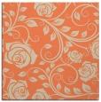 rug #389261 | square orange natural rug
