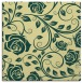 rug #389269 | square yellow rug