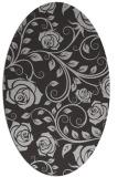 rug #389617 | oval red-orange natural rug
