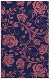 rug #389861 |  blue-violet rug