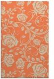 rug #389965 |  orange natural rug
