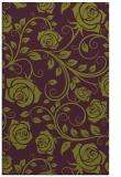 rug #389997 |  purple rug
