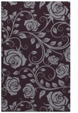 rug #390005 |  purple natural rug
