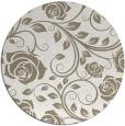 rug #390121 | round beige natural rug