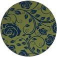 rug #390158 | round natural rug