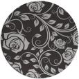 rug #390321 | round red-orange natural rug