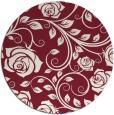 rug #390333   round pink natural rug