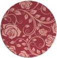 rug #390337 | round natural rug