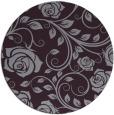 rug #390357 | round purple rug