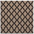 rug #396117 | square black popular rug