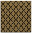 rug #396125   square black geometry rug