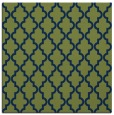 rug #396141 | square green traditional rug