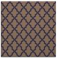 rug #396213 | square beige traditional rug