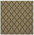 rug #396225 | square brown traditional rug