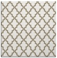 rug #396245 | square mid-brown traditional rug