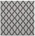 rug #396305 | square red-orange traditional rug