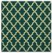 rug #396309   square yellow traditional rug