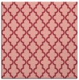 rug #396321 | square pink traditional rug