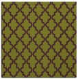 rug #396333 | square green rug