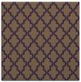 rug #396337 | square purple geometry rug