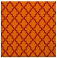 rug #396349 | square orange popular rug