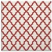 rug #396353 | square red traditional rug