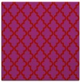 rug #396357 | square pink traditional rug