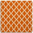 rug #396373   square red-orange traditional rug