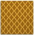 rug #396409 | square light-orange popular rug