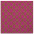 rug #396433 | square light-green traditional rug