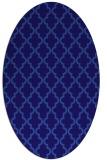 rug #396561 | oval blue-violet traditional rug