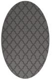 rug #396605 | oval mid-brown popular rug