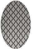 rug #396657 | oval red-orange traditional rug