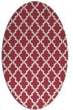 rug #396672 | oval geometry rug