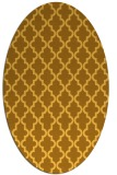 rug #396761 | oval light-orange traditional rug