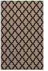 rug #396821 |  black geometry rug