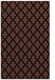 rug #396825 |  brown traditional rug