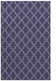 rug #396897 |  blue-violet traditional rug