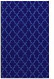 rug #396913 |  blue-violet geometry rug