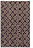rug #396917 |  blue-violet popular rug