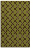 rug #397037 |  green traditional rug