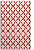 rug #397049 |  red traditional rug