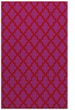 rug #397061 |  red traditional rug