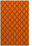 rug #397065 |  red-orange traditional rug