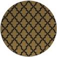 rug #397181 | round black geometry rug