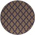 rug #397269 | round beige popular rug