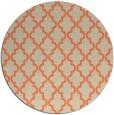rug #397357 | round beige geometry rug
