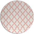rug #397381 | round white traditional rug