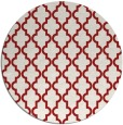 rug #397409   round red rug